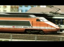 The beautiful Model Railway Layout at the Kaeserberg Railway Foundation