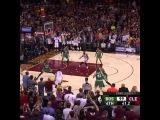 Kyrie Irving fake pass dribble lay up vs Boston Celtics -- Game 4 NBA playoffs ECF -- 23052017