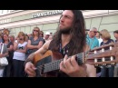 Best Street Guitar Performance Hundreds flock to watch this street performer and you can see why