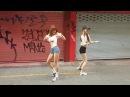 Кореянки танцуют shuffle/Шафл и другие