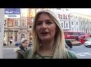 Модель прогулялась по Лондону в нарисованном топе.