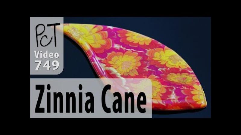 Polymer Clay Flower Cane Tutorial (Zinnia)