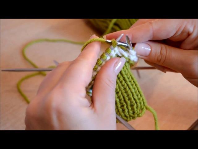 Вязаные варежки это просто Knitted mittens it s easy