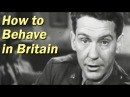 WW2 Training Film for US Soldiers | How to Behave in Britain | 1943