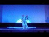 Феерия воды танец с полотном. Шоу-балет ПАНТЕРА, Иркутск