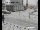УК Коммунальные сети. ДТП с 1-ой минуты трактор, щеткой для уборки снега, повред ...