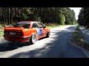 BMW E30 M50 TURBO 420HP K64 PALENIE GUMY GRAND-GUBIN