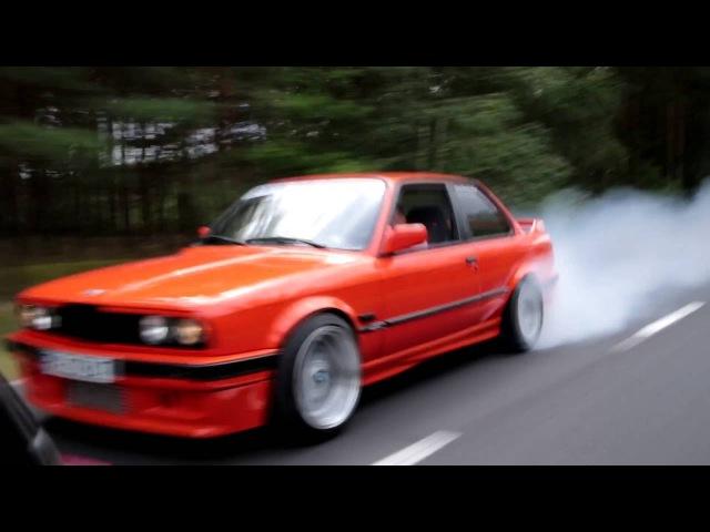 BMW E30 M50 TURBO 420HP K64 POKAZ MOCY GRAND GUBIN