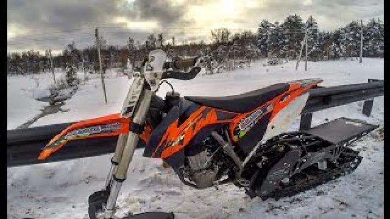 Snowbikes , Timbersled , snowmobiles /Снежный Эндуро прохват на гусянке