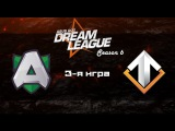 Alliance vs Escape #3 (bo3) | DreamLeague Season 6, 26.11.16