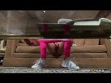 Belle Knox  Kendra Lust   Logan Pierce  brazzers porn  Babysitter  Big Tits  Brunette  Couples Fantasies  Feet  Indian