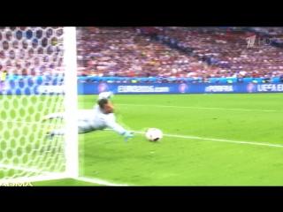 Победный гол Эдера,подаривший Португалии кубок Европы   ADMA
