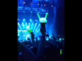 B.A.P. World tour Party Baby Moscow boom 09.05.2017 fancam Zelo Shining star