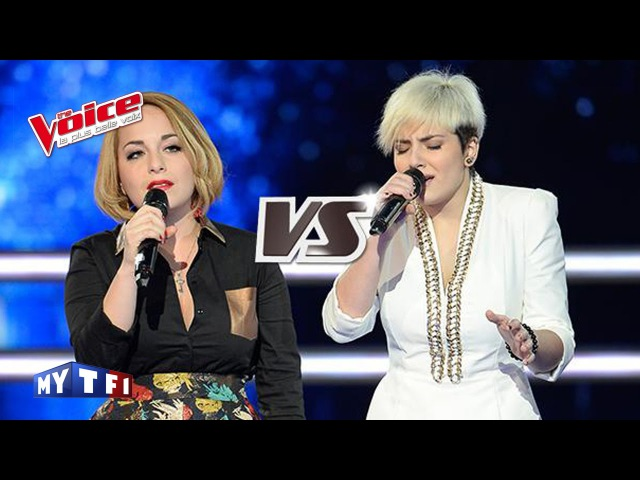 Richard Cocciante – Il mio rifugio | Elvya Gary VS Giuliana Danze | The Voice France 2015 | Battle