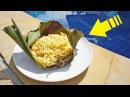 Блогер GConstr в восторге! Доширак в банановых листьях. От Кузьмы
