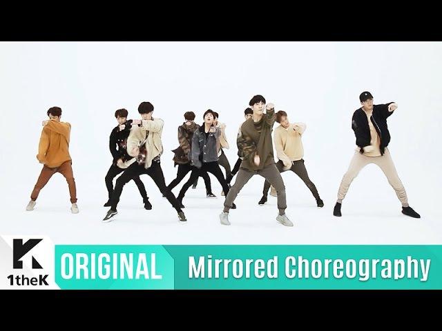 [Mirrored] PENTAGON(펜타곤)_ Gorilla Choreography(고릴라 거울모드 안무영상)_1theK Dance Cover Contest