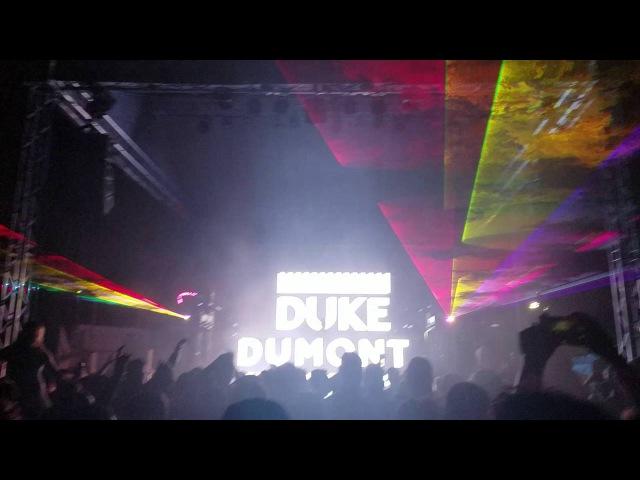 Duke Dumont Ocean Drive live at beach bar Tampa