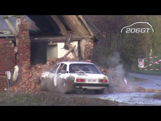 Rally Car VS House Gone Wrong!