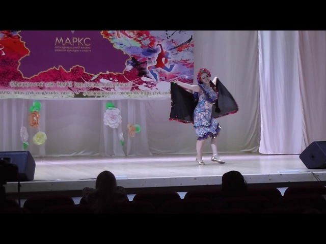 Светлана Шмакова. Эскандарани. Студия Арабского танца Байсан (г.Тамбов)