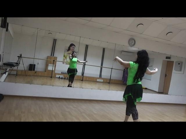 Связка на ритм Масмуди Сагир Студия Арабского танца Байсан г.Тамбов