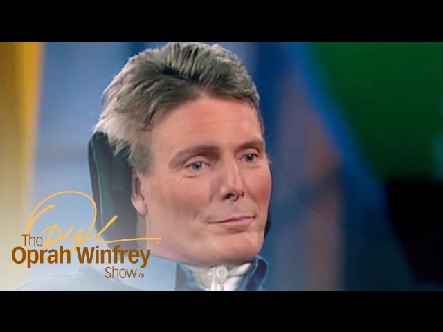 Christopher Reeve Any One of Us Could Get Hurt at Any Moment The Oprah Winfrey Show OWN