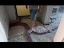 Отопление разводка трубами рехау