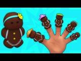 пряники торт поп палец семья  Детские рифмы  Nursery Song  Ginger Bread Cake Pop Finger Family
