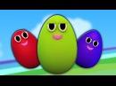 Яйцо палец семьи семья палец песня Egg Finger Family Baby Song Kindergarten Rhymes