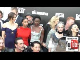 The Walking Dead Cast at the AMC presents Talking Dead Live for the premiere of The Walking Dead at