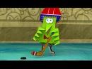Бумажки - Зимний цвет❄ - мультфильм для детей - поделки своими руками✂📏
