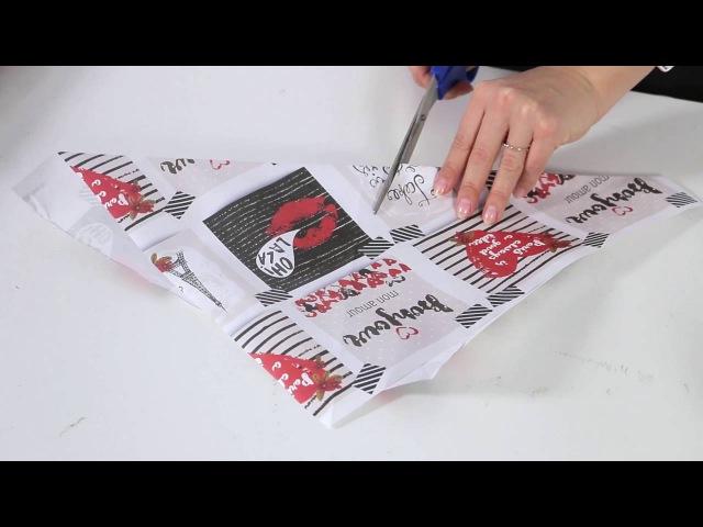 Мастер-класс по оформлению букетов крафт-бумагой | sima-land.ru