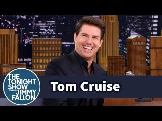 Tom Cruise Shot a