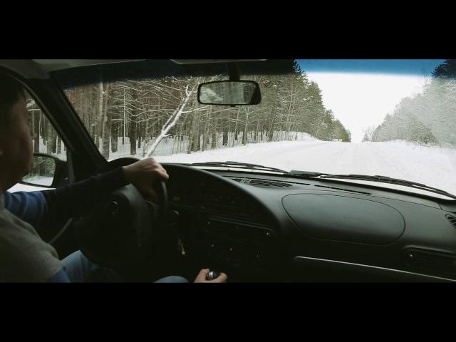 Уроки внедорожной езды с Chevrolet NIVA. Скользкая дорога и снежная целина