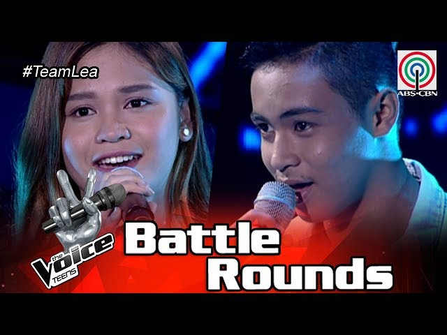 The Voice Teens Philippines Battle Round: Erica vs. Jomar - Makita Kang Muli