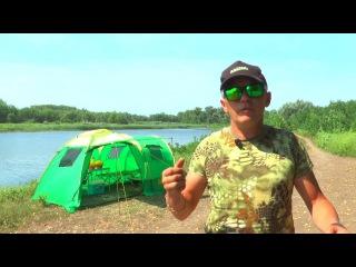 Обзор кемпинговой палатки Raffer Family Camp