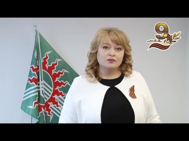 Наталья Тихонова поздравляет с Днем Победы!