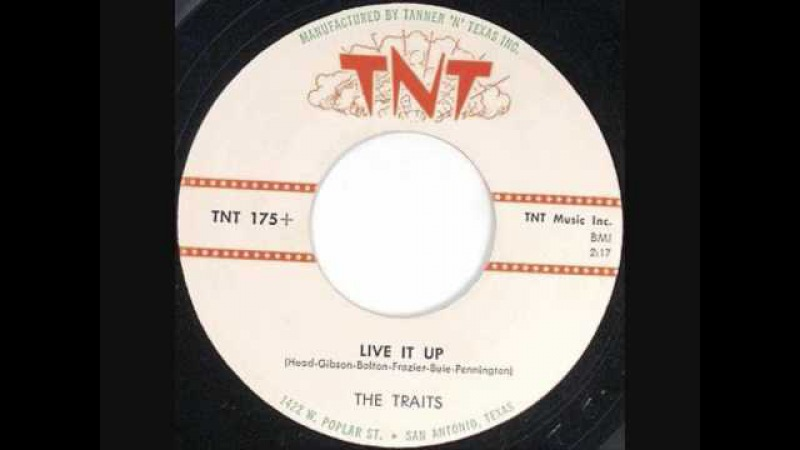 Roy Head and The Traits-Live It Up 1959