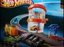 HOT Wheels Shark Park Action wash Disney Pixar Cars 2 Toys Truck Using Hauler Playset Review & Demo