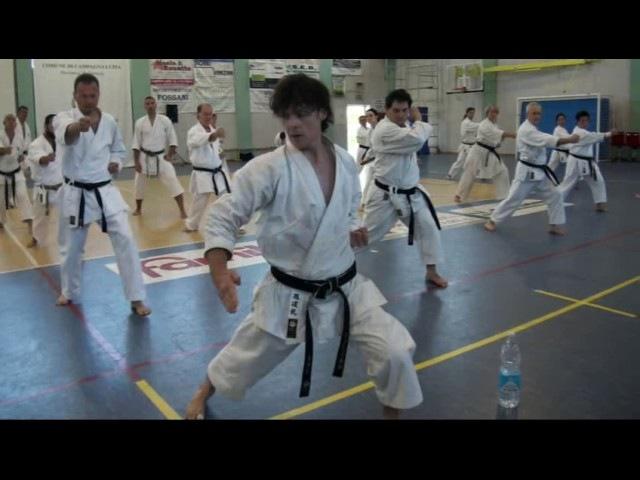 European Budo Karate Seminar Italy 2016
