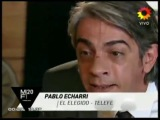 Mejor Actor Protagonico Pablo Echarri Telenovela El Elegido Premios Martin Fierro 2012