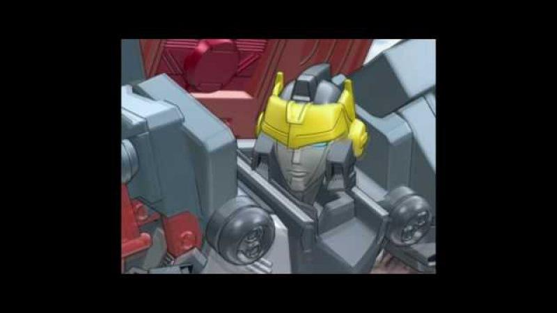 Трансформеры кибертрон русская заставка / Transformers cybertron rus intro (1080p)