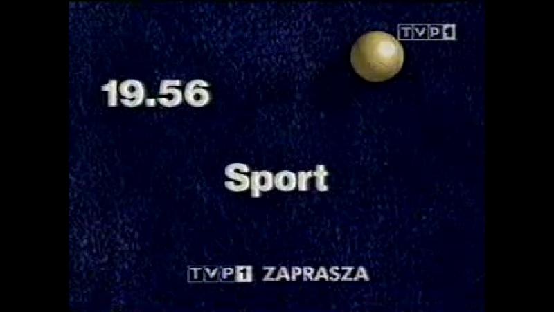Программа передач и конец эфира (TVP1 [Польша], 02.02.2000)