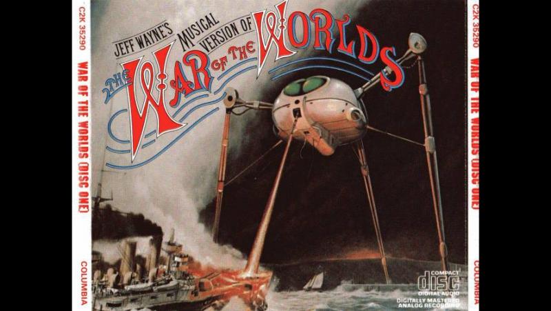Музыкальная версия Джеффа Уэйна. Война Миров. (The War of the worlds by Jeff Way