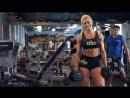 Ольга Путрова (Россия) - красивая фитнес-бикини модель. Тренировка в фитнес зале. Рекомендую!