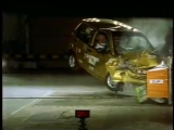 краш тест crash test Daewoo Matiz деу матиз