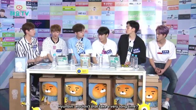 (ENG SUB) Heyo TV PRODUCE 101 - Частная жизнь Шести принцев эп. 1