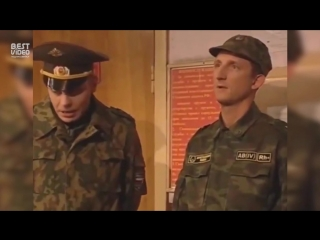 Неудачные дубли со съёмок сериала Солдаты