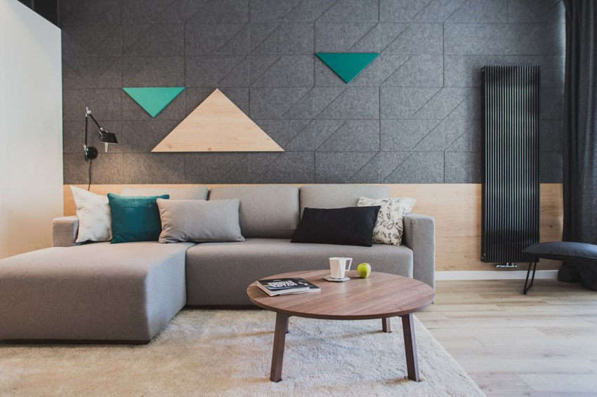 Квартира-студия 36 м в Польше.