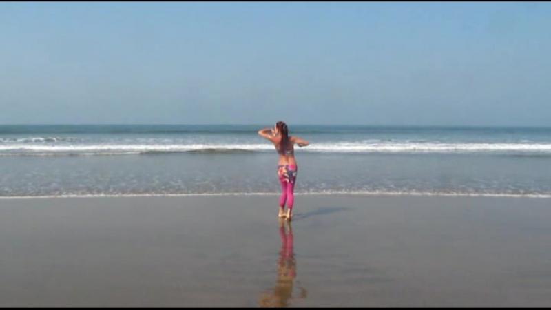 Taisa Improvise @ Ashvem Beach, Goa, India