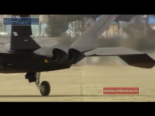 Iran made fighter plane Qaher F 313